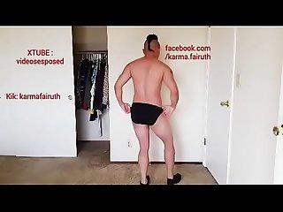 Lfd colon un muchacho de honduras bailando desnudo excl