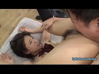 Jav Idol Fucks Uncensored In Her Uniform Cute Teen Fucks On The Floor Real Babe