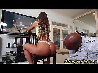 Busty slut rides big dick