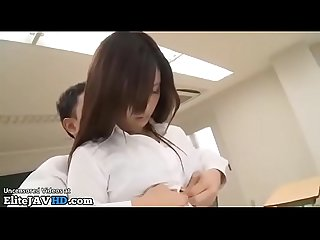 Japanese teacher drilled by horny student more at elitejavhd com