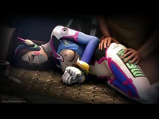 Overwatch d va kidnapped and fucked hard