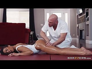Kira noir in oily yoga full zzerz com