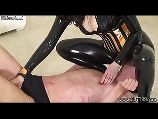 Japanese Dominatrix AiAoi Whipping and Ballbusting
