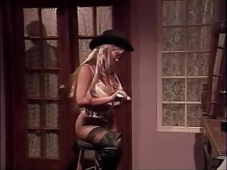 Kascha, Courtney, Nikki Sinn in vintage porn movie