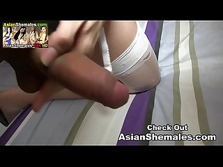 Balloon from Thailand Alone in her Room Playing with her Long Hard Cock