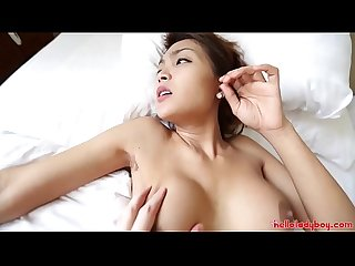 Hello LadyBoy - Two Sexy Thai ladyboys get fucked by white tourist