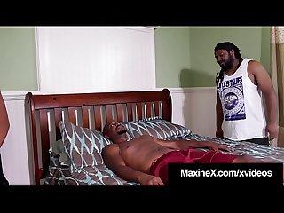 Oriental Sex Nurse Maxine X Pussy Fucks 2 Big Black Dicks!