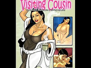 Savita Bhabhi - EP 04 - Visiting cousin - Full comic book @..