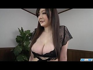 Rie tachikawa big tits Japanese enjoys a good cock