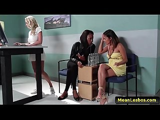 Hot mean lesbians major trust issues with kaylani lei madison scott marie luv 01