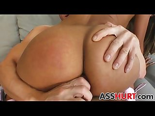 Sahara gets rough anal