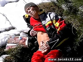 Gay teen boy sex smoking weed Roma Smokes In The Snow