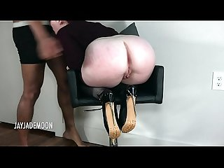Innocent Redhead Throat Fucked and Spanked- JayJadeMoon Amateur Couple
