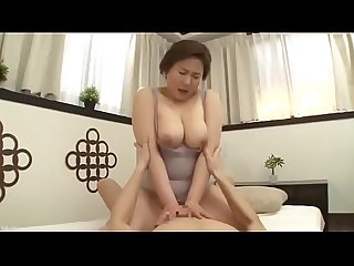 Beautiful mom japanese fucked by son