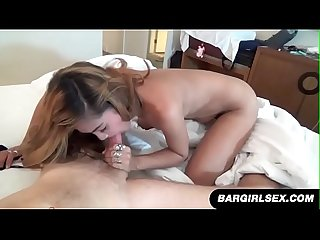 Filipina sucks and rides cowgirl