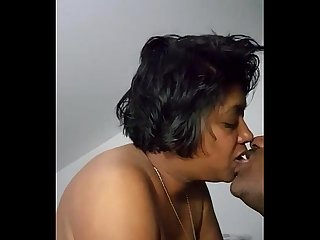 Mature desi Indian couple romance with loud moaning - IndianHiddenCams.com