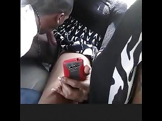t girl getting sucked in backseat- smoke