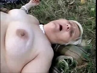 Old lesbian sluts having fun outdoor amateur older