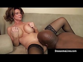 Milf manager deauxma gets an employee s Bbc with a big Bang excl
