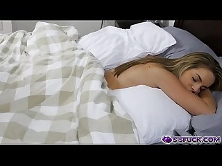 Kimmy granger Sleeping when she get fuck by her step bro