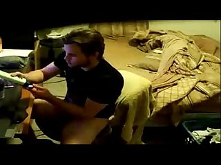 Str8 guy plays with himself