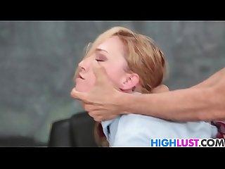 Schoolgirl Zoe Parker gets punished