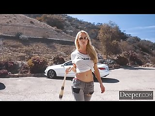Deeper. Kayden Kross Craves Sweet Payback for Her Competition