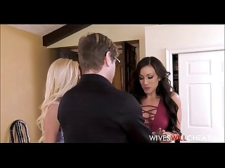 Hot Young Blonde Cheating Wife Lyra Law Has Husband Watch Her Fuck Another Girl Jennifer White