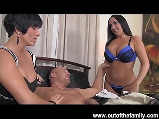 Big tits milf shay fox and daughter blowjob contest