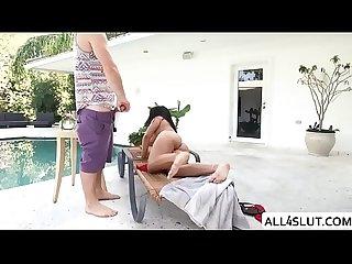 Teen latina julz gets pounded hard