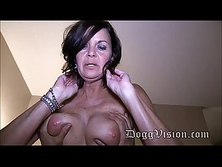 50 year old swinger wife gilf makes a porn video