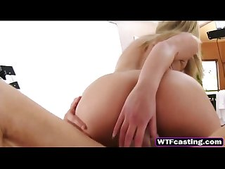 Wtfcasting 8 2 17 nubiles casting blonde is filmed riding stiff dick