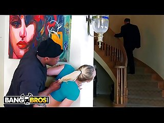 Bangbros aj applegate gets hate fucked by home invader behind dad S back