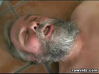 Horny grandpa still got the moves and fucked a hot chick