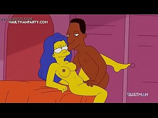 Os simpsons Hentai Xxx marge e carl