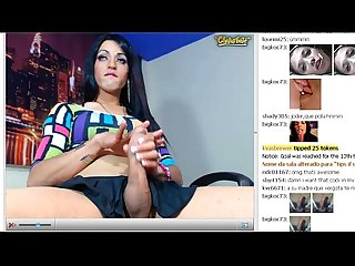 Shemale big cock webcam no cum 1