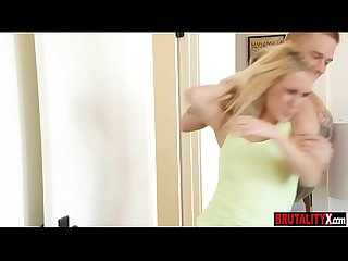 Bitchy teen stepsister force slammed by her stepbrother