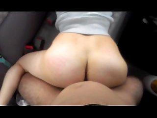 Fucking my gf in her car