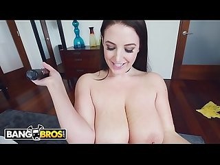 Bangbros angela white takes selfies of her big tits and turns me on