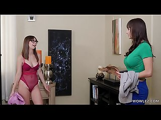 Teen Lesbian Having First Time Sex With An Experienced Babe - Lexi Luna, Shae Celestine