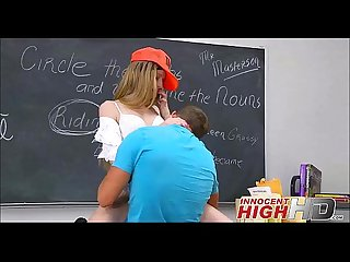 High School Teen Avril Fucks A Surfer Boy At School - InnocentHighHD.com