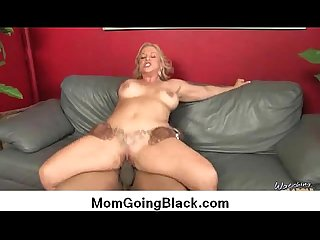 Interracial cougar porn from Watching My Mom Go Black 27