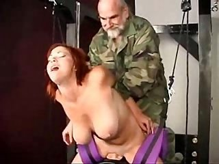Girl tied and fucked by Army men more at imlivex com