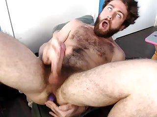 Orgazm dude roll his eyes back from cumming more vids at mayhemcams period com