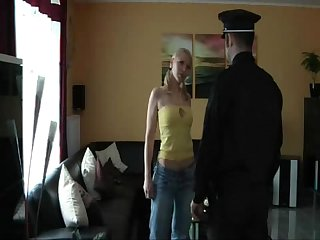 The police play with little jannet