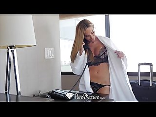 PureMature - Tan lined milf Subil Arch fucks the bell boy