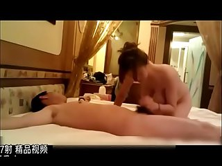 Big boobs Chinese milf fuck her son