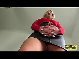 pascalssubsluts - MILF Kelly Cummings fed Cum na beukende