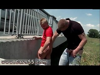 Gay outdoors florida hot stud gets fucked on the highway