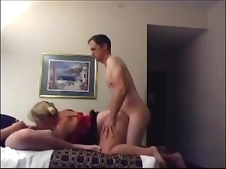 Mmf threesome with a horny bbw